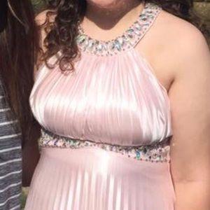 Dresses - Blush Pink Prom Dress